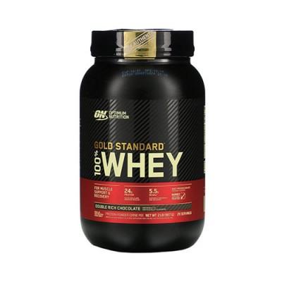 Сывороточный протеин Optimum Nutrition 100% Whey Gold Standard Double Rich Chocolate 909 г