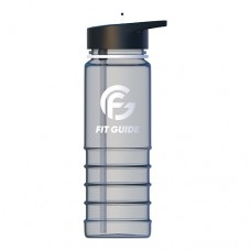 Фляга пластикова прозора 800 мл Fit guide