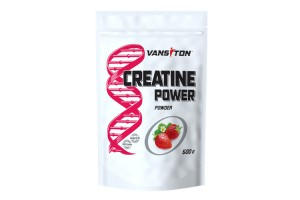 CREATINE POWER (КРЕАТИН, 500 г) Клубника