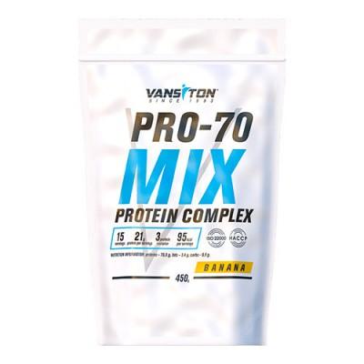 Протеїн Про 70 450 г Банан ТМ Вансітон / Vansiton