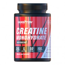 Креатину моногідрат Creapure 100% 250г ТМ Вансітон / Vansiton
