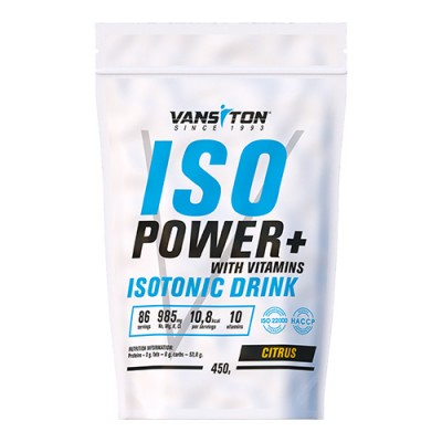 Изотоник ISO Power 450 г Цитрус ТМ Ванситон / Vansiton