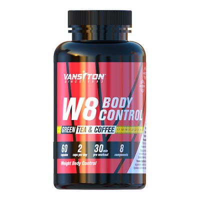 Жиросжигатель W8 Body control капсулы / Контроль массы тела №60 ТМ Ванситон / Vansiton