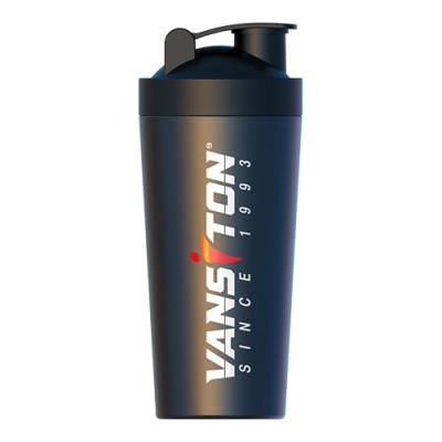 Шейкер черный металлический 750 мл ТМ Ванситон / Vansiton