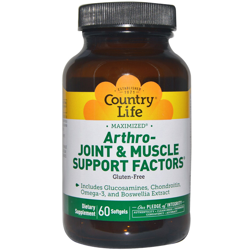 ARTHRO-JOINT & MUSCLE SUPPORT FACTORS (Артро-Джоинт энд Маскл Сеппорт Факторс)
