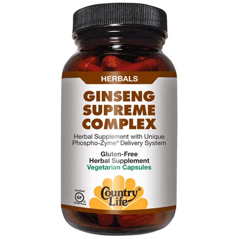 GINSENGS SUPREME COMPLEX (Джинсенгс сюпрем комплекс)