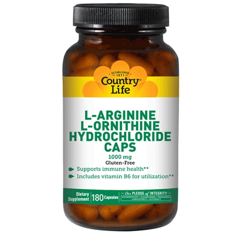 L-ARGININE, L-ORNITHINE (L-аргинин, L-орнитин)