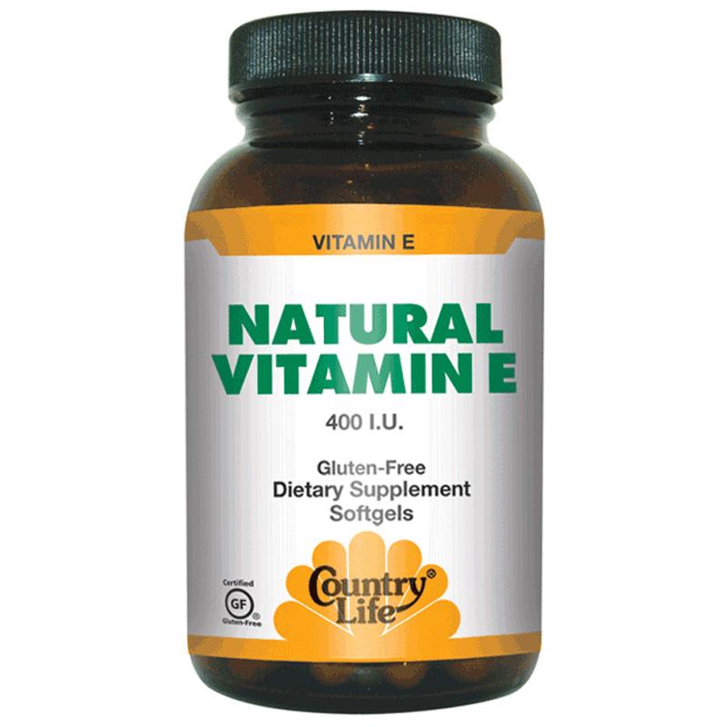 NATURAL VITAMIN Е (Натуральный витамин Е)