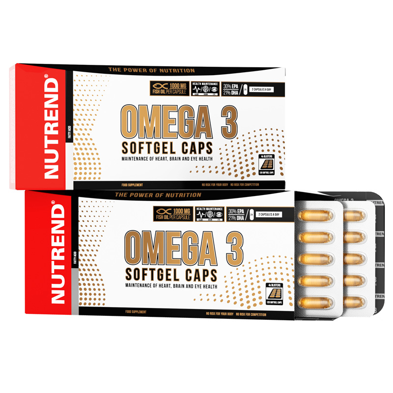 OMEGA 3 SOFTGEL CAPS (Омега-3 в мягких капсулах)