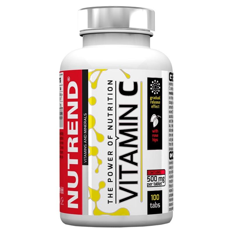 VITAMIN C WITH ROSE HIPS (Витамин С с шиповником)