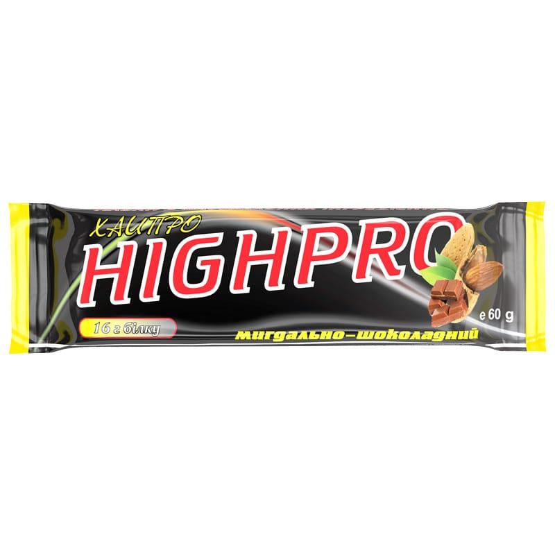 Белковый батончик «ХайПро» шоколадно-миндальный