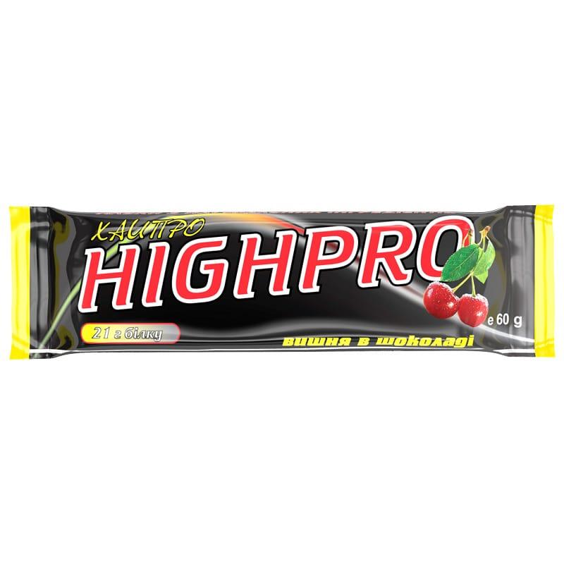 Белковый батончик «ХайПро» вишня в шоколаде