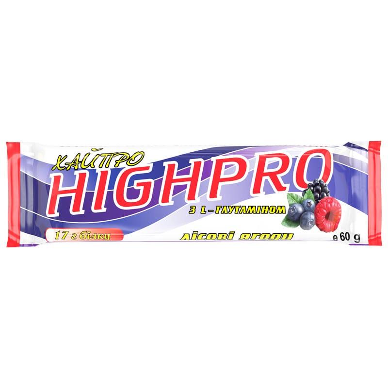 Белковый батончик «ХайПро» лесная ягода