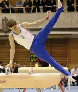 Максим Семянкив. Мастер спорта международного класса по спортивной гимнастике, член Национальной сборной Украины